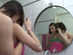 Legal Age Teenager whore opens her mouth widely to welcome a thick rod